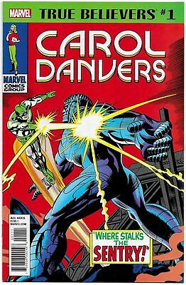 True Believers Carol Danvers #1 (Marvel, 2018) NM
