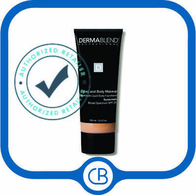 Dermablend Leg and Body SPF 25 DROP DOWN MENU 3.4 oz SEALED