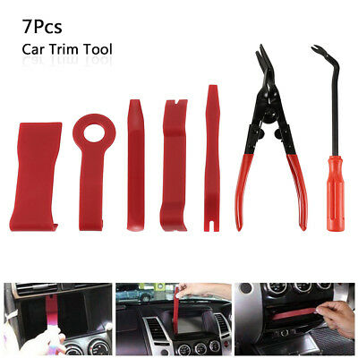 Car Door Radio Card Panel Trim Clip Removal Pliers & Upholstery Remover Tool New