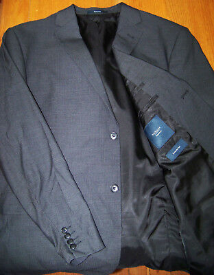 Van Heuson 108NR Wool Blend suit - European Fit - As New, hardly worn Dark Grey