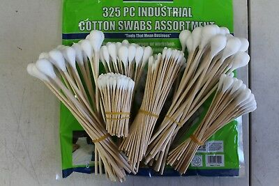 Industrial Cotton Swabs 325 Piece