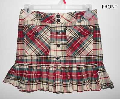 Ralph Lauren Juniors Size 12 Plaid Skirt