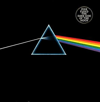 PINK FLOYD the dark side of the moon (CD album) CDP 7460012 psychedelic rock