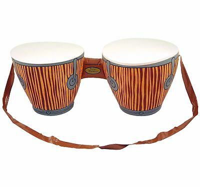 Inflatable Bongo Drums African Fancy Dress Hawaiian Beach Party Prop Decoration