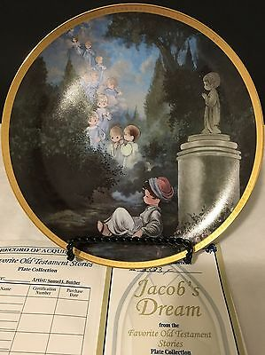 """Favorite Old Testament Stories Plate Collection """"Jacob's Dream"""""""