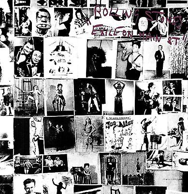 THE ROLLING STONES exile on main street (CD album) EX/EX CDV 2731 classic rock