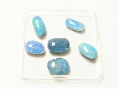 "Opal Triplet Freeform 6Pcs (Coober Pedy) 10Mm Av. 14Ct ""new"" Auz Seller C165"