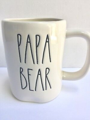 Rae Dunn King Mug Fathers Day Dad Day Gift LL Long Letters