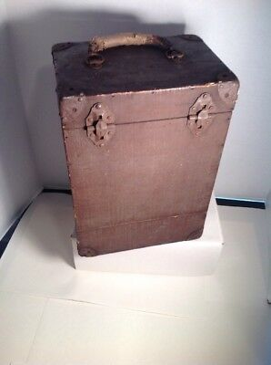 Antique Wood Vintage Ice Chest Ice Box Camper Cooler And Hyde Park Beer Opener