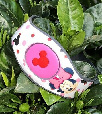 For Disney Magic Band 2 Decal Stickers Skin Minnie Head For Disney Bands