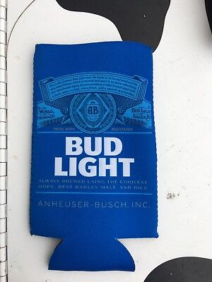 New Authentic Bud Light Can Beer Koozie