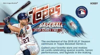 2018 Topps Series 2 Complete Baseball Card Base Set 351-700 LIVE Ready to Ship!