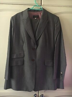 Grey Suit Size 20 Marks And Spencer