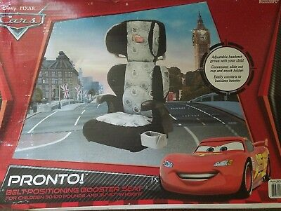 Disney Pronto! Belt-Positioning Booster Car Seat never been opened!!! new in box