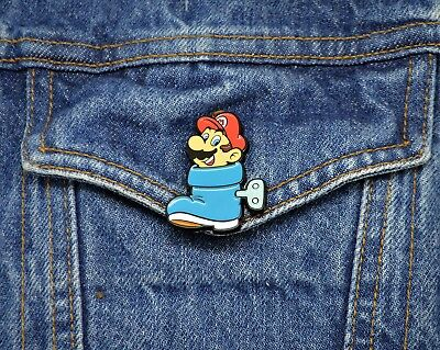 Super Mario Bros 3 Collector Pin - Boot Mario - Switch 3DS Wii U Snes NES  2
