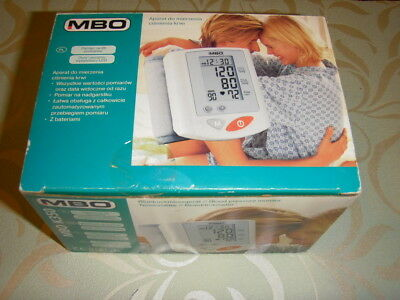 Blood Pressure Monitor Medion  Mbo K350 Medical Complete Boxed Instructions Etc