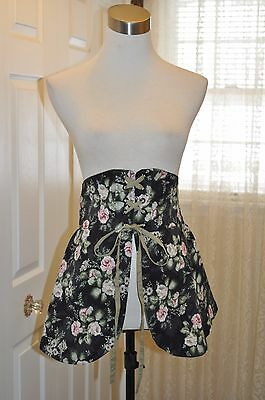 Pyramid Collection~Renaissance~Floral Cross-Laced Waist Cincher~Nwot~Small~$69