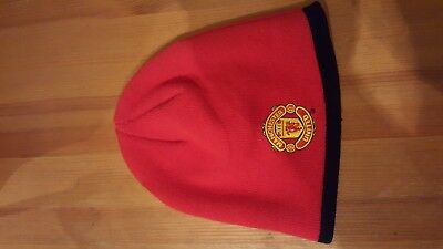Child's Manchester United beanie hat - excellent condition