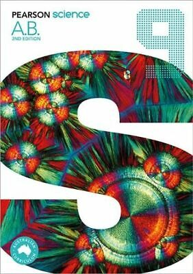 NEW Pearson Science 9 By Greg Rickard Paperback Free Shipping