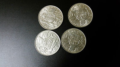 ***1966 Round 50C Coins. Very Nice Collectable Grades.***