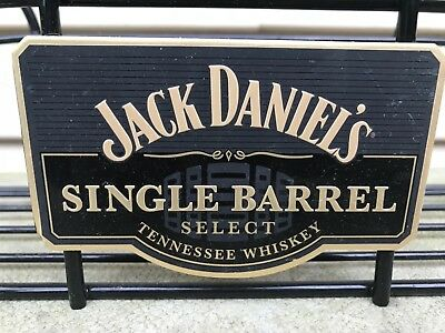 Jack Daniel's Collectible Set ~  Single Barrel Shelf, shot glass & serving tray
