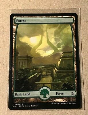 FOREST Full Art - MtG Amonkhet - Common Land - MINT