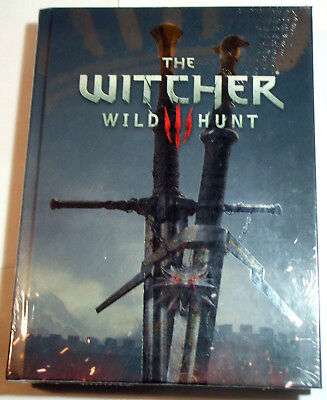 The Witcher Wild Hunt Strategy/Game Guide Collectors Edition Hardcover - posted
