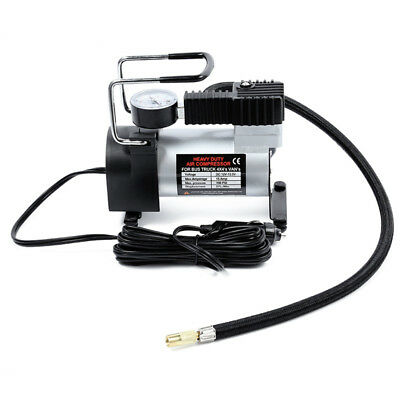 12V Portable Car Electric Inflator Pump Air Compressor 80PSI Electric Tire A4I0