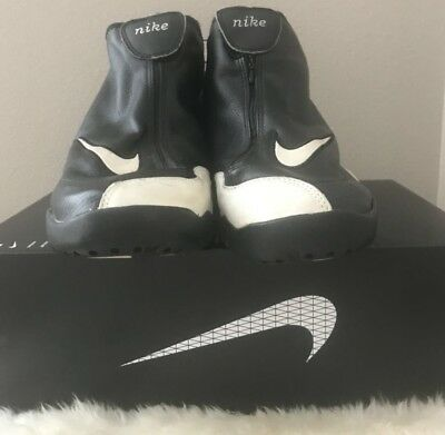 73ce3a9297d4 Nike Gary Payton Son Of Gloves Black White Athletic Shoes 830107-011 sz 11.5