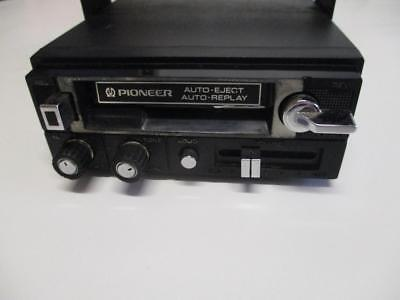 Vintage Pioneer KP-292 under dash Car cassette player with mounting bracket