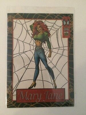 1994 Marvel Spider-Man Mary Jane #2 Suspended Animation
