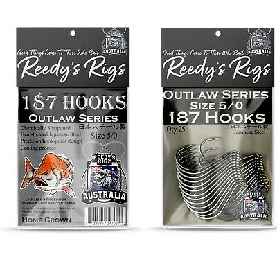 9//0 Circle Otopus Pack Hook's Offset Heavy Guage Japanase Made Reedy's