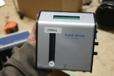 DryCal DC-Lite Primary Flow Meter WORKING