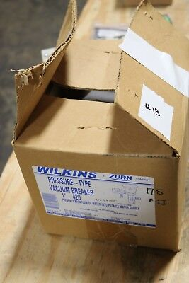 "NEW Zurn 420 Wilkins Pressure 1"" Vacuum Breaker Assembly"