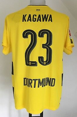 Borussia Dortmund 2017/18 S/s Home Shirt Kagawa 23 By Puma Size Adults Xl New