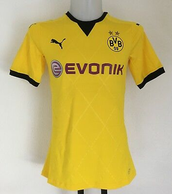 Borussia Dortmund 2015/16 S/s Actv Home Shirt By Puma Size Adults Large New