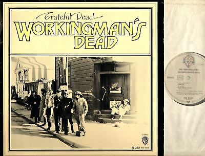 GRATEFUL DEAD workingman's dead (1980s reissue) LP EX+/VG- 46 049 folk rock