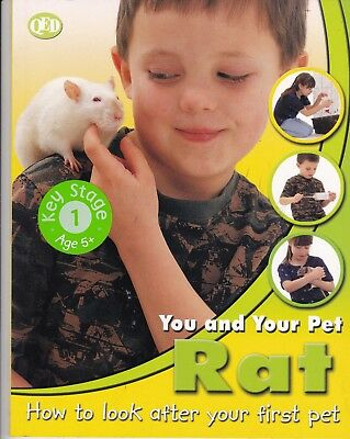Pet Rat, You And Your Pet By Qed Key Stage 1 5+ New Book