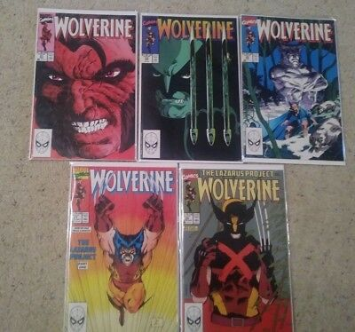 Wolverine (1988) 21 22 23 24 25 26 27 28 29 30 (Marvel 1988 Vol 2) NM- Jim Lee