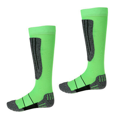 Long Thick Thermal Ski Socks Lightweight Snowboarf Socks for Hiking Cycling