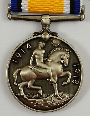 Superb Full Size Replica British WW1 War Medal Imperial Forces Service/Campaign