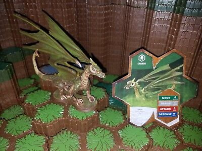 Heroscape Charos Orms Return Dragon With Card - D&D RPG Warhammer minis