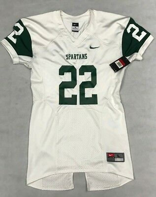 1e2fe0fc897 Nike Mens Large Michigan State Spartans White Jersey #22 *read* 473569 8