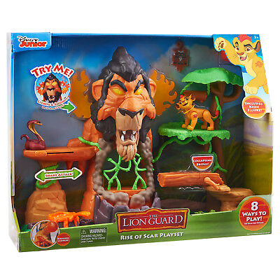 Just Play Lion Guard The Rise of Scar Play Set, The Lion King Disney Junior, NEW