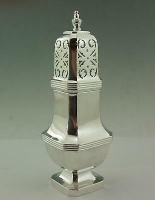 Substantial Solid  Silver Art Deco Sugar Caster 5.75 Oz  163 Gms