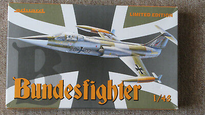 Eduard 1195 Bundesfighter Limited Edition 1:48 m. Resinpilotensitz