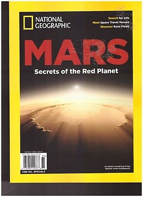 National Geographic Special Publication Mars 2018