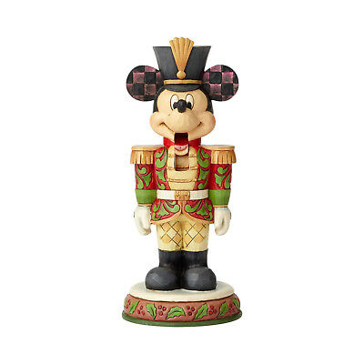 Jim Shore Disney Mickey Mouse Nutcracker Soldier New 2018 6000946