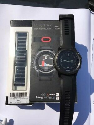 GARMIN Fenix 3 Excellent Condition with Original Box and Contents