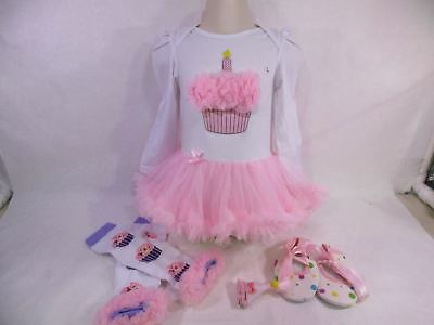 Baby Girl 1st Birthday Tutu Outfit Large